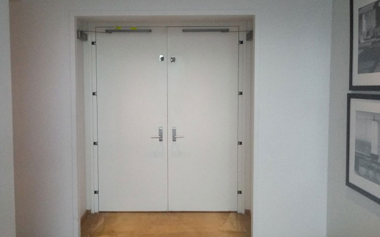 Double Door From Other Side lock installation service in New York