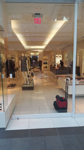 Commercial glass door installation service in New York